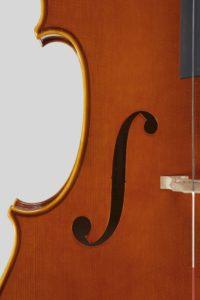 "Year 2012 – Cello model style A. Stradivari ""B form"" – ""Mara"" 1711"