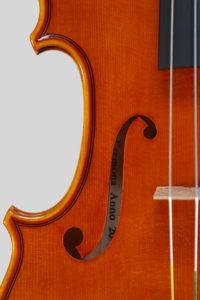 "Year 2014 – Violin model style A. Stradivari ""Soil"" 1714"