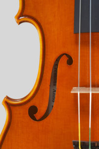 "Year 2016 – Violin model style A. Stradivari ""Soil"" 1714"