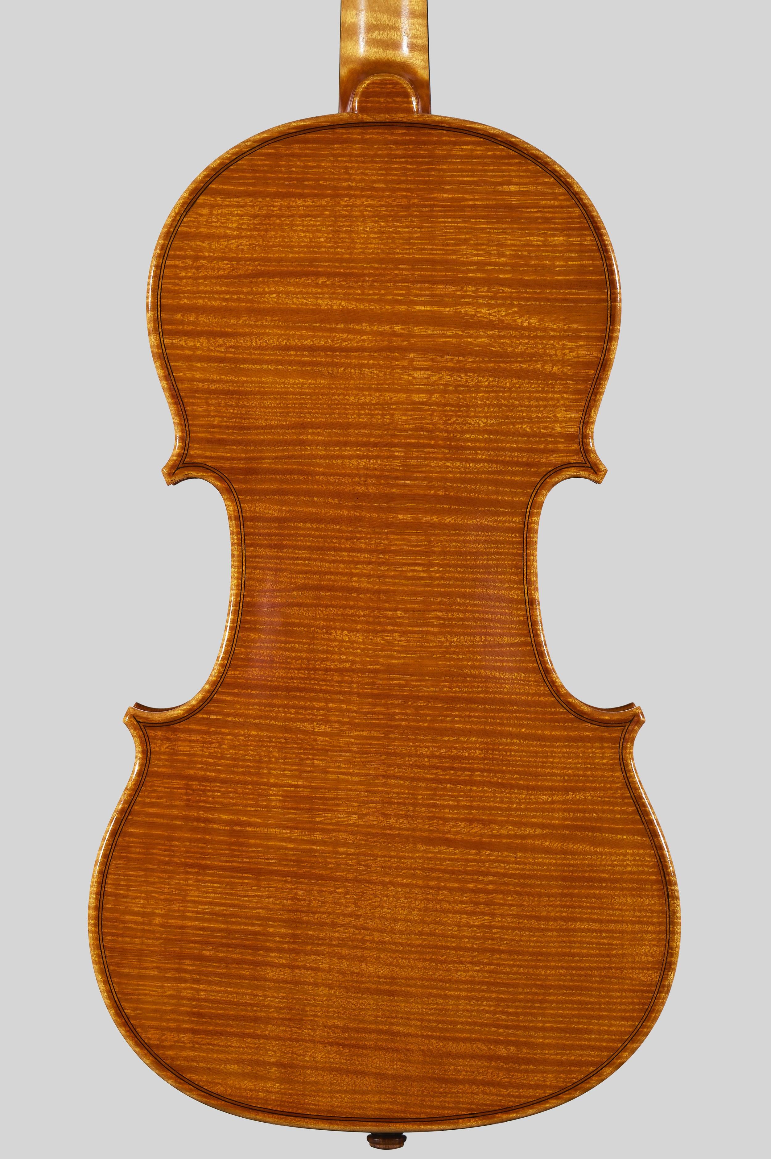 """Anno 1978 - allievo C. Belli - Violino dal mod. stile """"A. Stradivari """", etichetta: """"I.P.I.A.L.L."""" - Fondo"""