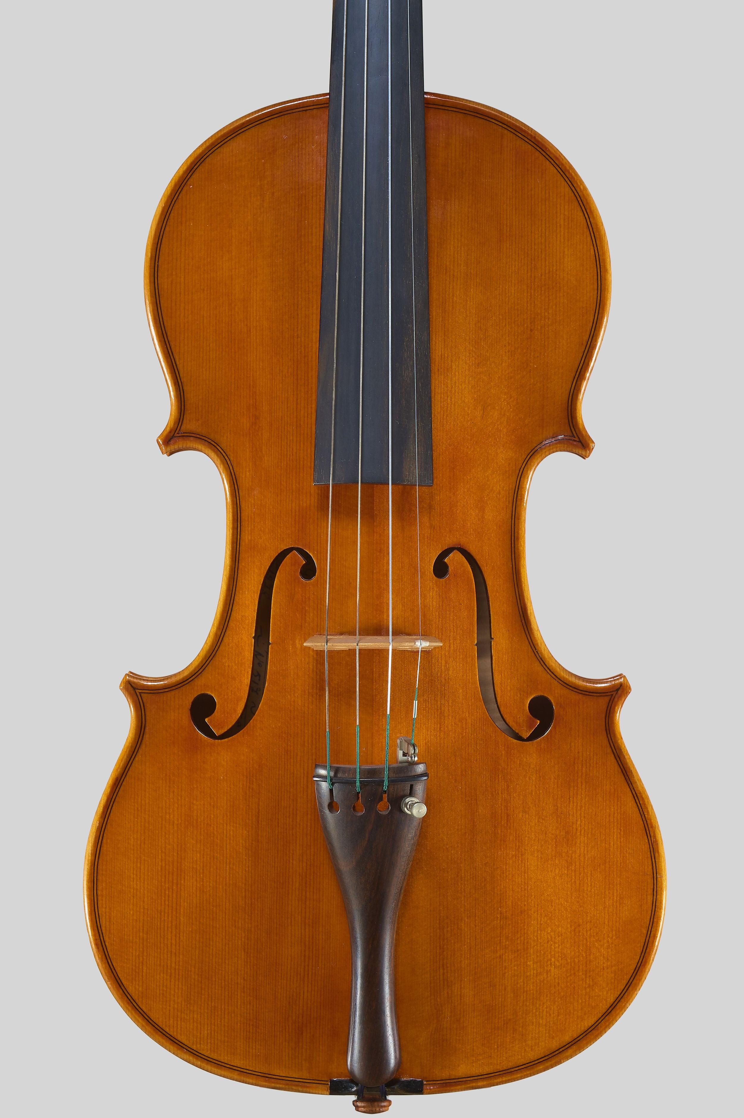 "Anno 1978 - allievo C. Belli - Violino dal mod. stile ""A. Stradivari "", etichetta: ""I.P.I.A.L.L."" - Tavola"