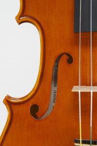 "Year  2018 – Violin model style A. Stradivari ""Soil""1714"