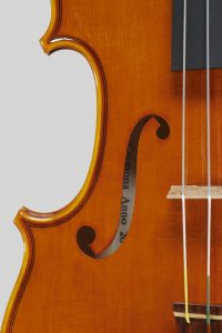 "Year  2018 – Violin model style A. Stradivari ""Viotti"" 1709"